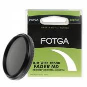 Fotga Slim Fader 58mm ND filtre réglable variable ND2 à ND400 Neutral Density