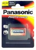PANASONIC Pile Panasonic Lithium Power CR123 (1 pce)