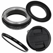 Fotodiox Macro Reverse Adapter Compatible with 62mm Filter Thread on Nikon F Mount Cameras