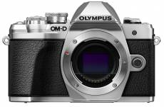 Olympus OM-D E-M10 Mark III Boitier Nu Argent