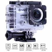 Caméra Sport TecTecTec XPRO2 Ultra HD 4K Photo 16MP Wifi Argent
