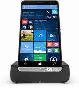 "HP Elite X3 (Y1M46EA) Smartphone (écran Tactile 15,14 cm/5,96"") Amoled WQ HD, 64 Go, Dual SIM, Windows 10 Mobile, Noir/Argent"