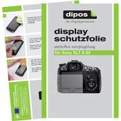 Dipos I 6X Protection ecrán Mat Compatible avec Sony DSC-H400 Films de Protection d'écran