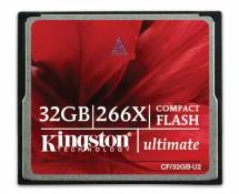 Kingston CF/32GB-U2 Carte CompactFlash Ultimate 266x - 32 Go