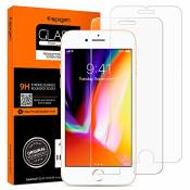 Spigen 042GL20800 Protection écran iPhone 8/7, Verre Trempé iPhone 8, Protection écran iPhone 7, [Extreme Résistant aux rayures] Protection ecran iPho