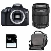 CANON EOS 1300D + 18-135 IS STM + Sac + Carte SD 4Go