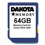 64GB Memory Card for Canon EOS 100D