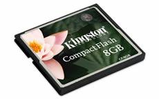 Kingston CF/8GB Carte CompactFlash Standard 8 Go