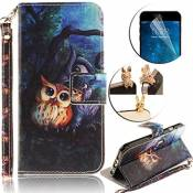 Etui Coque Samsung Galaxy A3 (2016), Sunroyal® Housse Bookstyle Portefeuille Strap Case Cover PU Cuir pour Samsung Galaxy A3 (2016) SM-A310F Couvrir S