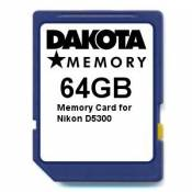 64GB Memory Card for Nikon D5300