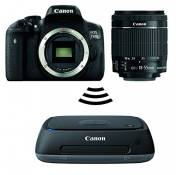 750D canon eOS eF-s 18–55 mm iS sTM + station cS100 connect