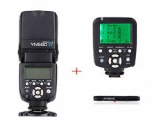YONGNUO YN560 IV 2.4GHZ Flash Speedlite + Yongnuo YN560-TX Wireless Flash Controller and Commander for Nikon DSLR Cameras comme D750 D700 D610 D600 D8