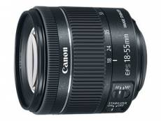 Objectif Canon EF-S - Fonction Zoom - 18 mm - 55 mm - f/4.0-5.6 IS STM - Canon EF-S