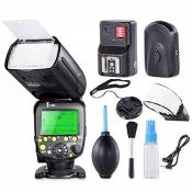 FitTek® Travor Professionnel i-TTL Maître/Esclave Speedlite *Haute Vitesse Synchro* Temps de Recharge Rapide Flash Kit pour Nikon D80 D90 D800 D700 D7