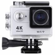 5,1 cm LCD 4 K (3840 * 2160) 15 fps 1080p 60 fps Full HD Wifi App 30 m étanche 12 MP Sports Action Caméra DV 170 ° objectif grand angle