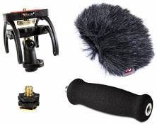 Rycote 046015 Kit Audio pour Tascam DR-40, Suspension, Bonnette Anti-vent