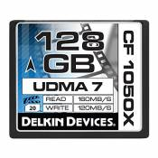 Delkin Devices DDCF1050-128GB Carte Mémoire CompactFlash 128 Go