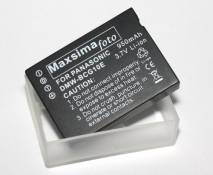 Maxsima - Compatible 950mAh Battery DMW-BCG10E for Panasonic Lumix TZ65, TZ22, TZ20, TZ18, TZ10, TZ8, TZ7, TZ6, ZS3, ZS1; Lumix DMC-TZ10, DMC-TZ8, DMC-TZ7, DMCTZ7, DMC-TZ6, DMCTZ6, DMC-ZS3, DMCZS3, DMC-ZS1, DMCZS1, DMWBCG10E, BCG10, BCG10E, (Firmware updated for all models)