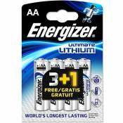 All Trade Direct Energizer Aa Lot de 8 piles lithium LR6 L91 Date de péremption 2025