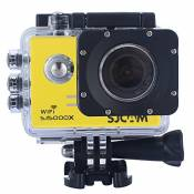 Sjcam Original Sj5000X Wifi Waterproof Action Camera with 12MP SONY IMX078 Gyro AV or HDMI Out And OSD Enabled (Yellow)