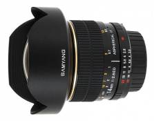 Objectif reflex Samyang 14 mm f/2.8 Aspherical IF ED UMC; Monture Sony Type A