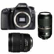 CANON EOS 80D + 15-85 IS + TAMRON 70-300 VC USD