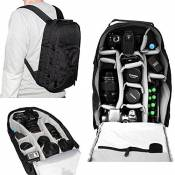 7dayshop Photographers Backpack Rucksack - Camera Bag for DSLR Cameras Incl. Canon EOS and Nikon