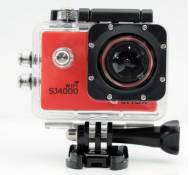 QUMOX SJ4000 WiFi Action Sport caméra Cam Camera imperméable Full HD 1080p Video Helmcaméra rouge