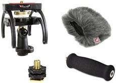 Rycote 046001 Kit Audio pour Zoom H4N, Suspension, Bonnette Anti-vent