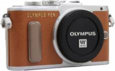 Appareil photo Hybride Olympus Pen E-PL8 Nu Marron