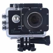 Sjcam Original Sj5000X Wifi Waterproof Action Camera with 12MP SONY IMX078 Gyro AV or HDMI Out And OSD Enabled (Black)