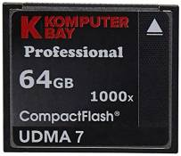 Komputerbay KB_2-Pack_64GB_COMPACTFLASH_1000X_FBA Carte Mémoire Compact Flash 64 Go