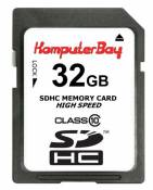 Komputerbay KB_32G_SDHC_with_SDADAP_10in1 Carte mémoire SDHC Classe 10 32 Go 20 Mbps