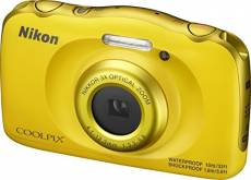 Nikon COOLPIX W100 inclus 16GB carte mémoire – jaune