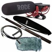 Rode VideoMic Rycote + Protection anti-vent deadcat Micro Boom Pole VC1 Câble + Bag