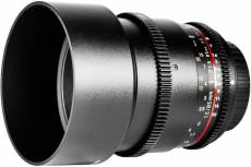 Samyang 85mm T1.5 AS IF UMC VDSLR II pour Sony A-Mount