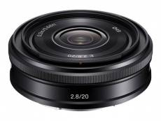 Objectif Sony SEL20F28 - Fonction Grand angle - 20 mm - f/2.8 - Sony E-mount