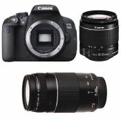 CANON EOS 700D + 18-55 IS + 75-300 III