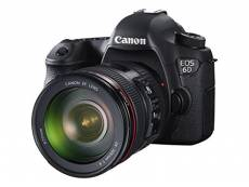 Canon EOS 6D + EF 24-105 IS STM Reflex Camera Black