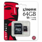 Keple | Carte Mémoire pour Nintendo Switch Console Gamepad | 64GB Kingston Class 10 SDHC SDXC Micro SD