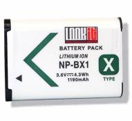 LOOKit Premium Batterie pour Sony NP-BX1 (1190 mAh, 3.6V) -- pour Sony HX350, Sony HDR-AS300R, Sony Fdr de x3000r, Sony HDR-AS50, Sony DSC-RX100M4, So
