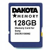 128GB Memory Card for Sony DSCRX100M2
