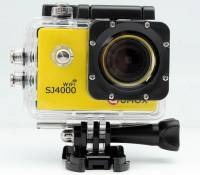 QUMOX WIFI SJ4000 Action Sport Cam Camera Waterproof Full HD 1080p 720p Video Helmetcam caméra jaune