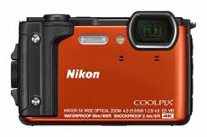 Nikon Coolpix W300 Appareil photo 16 Mpix Orange