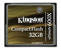 Kingston CF/32GB-U3 Carte CompactFlash Ultimate 600x - 32 Go