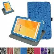 """Rotating Coque Pour Acer Iconia One 10 B3-A20,Mama Mouth 360 Degree Rotating PU Cuir debout Fonction Housse Coque Étui Couverture pour 10.1"""" Acer Icon"""
