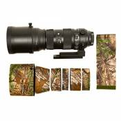 Wild for Life LensCover Sigma 150-600 f5-6.3 DG OS HSM Contemporary Camouflage APG