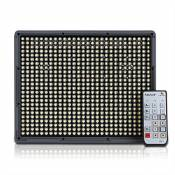 Aputure Amaran HR672W - Remote Controlled LED Video Light CRI 95+ (compris les 2 piles NP-F970 et sac)