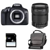 CANON EOS 1300D + 18-135 IS STM GARANTI 3 ans + Sac + Carte SD 4Go