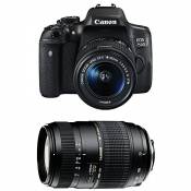 CANON EOS 750D + 18-55 IS STM + TAMRON 70-300 DI